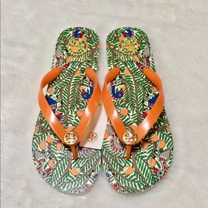 Tory Burch Something Wild Flip Flops